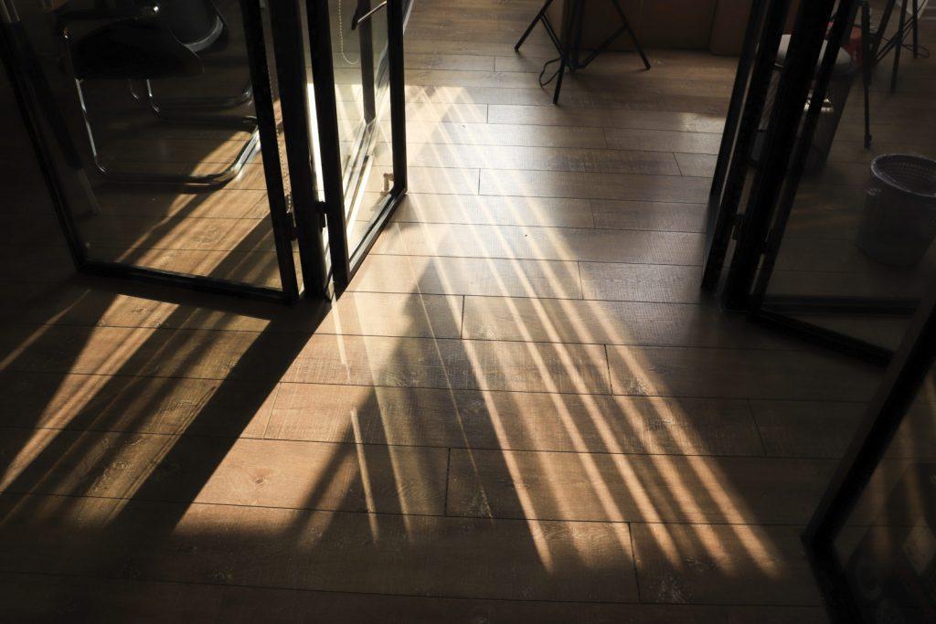 podlaha, dřevo, vinyl
