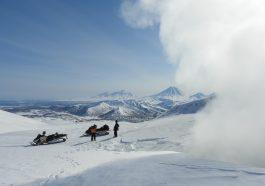 Kamchatka Volcano Fumarole Snow  - Natalia_Kollegova / Pixabay