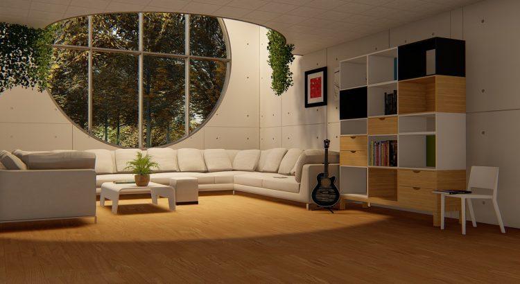 Round Window Living Room Sofa Set  - Muntzir_Mehdi / Pixabay