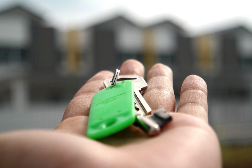 klíče, hypotéka